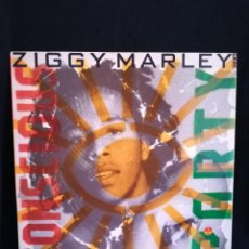 Disques de vinyle: LP ZIGGY MARLEY AND THE MELODY MAKERS - CONSCIOUS PARTY, ESPAÑA 1988, IMPECABLE. Lote 266271293