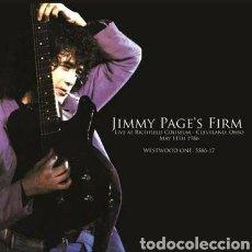 Discos de vinilo: JIMMY PAGE'S FIRM, LIVE AT RICHFIELD COLISEUM CLEVELAND OHIO MAY 11, 1986 . DOBLE LP VINILO. Lote 266292993