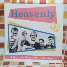 Discos de vinilo: HEAVENLY–A BOUT DE HEAVENLY: THE SINGLES. LP VINILO PRECINTADO.. Lote 266301613