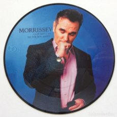 Discos de vinilo: MORRISSEY – I JUST WANT TO SEE THE BOY HAPPY / LATE NIGHT, MAUDLIN STREET UK,2006. Lote 266303843