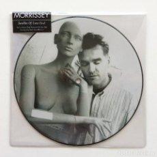 Discos de vinilo: MORRISSEY – SATELLITE OF LOVE (LIVE) UK & EUROPE,2014 PRECINTADO. Lote 266304758