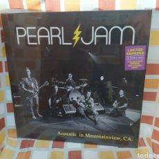 Discos de vinilo: PEARL JAM–ACOUSTIC IN MOUNTAINVIEW, CA. LP VINILO PRECINTADO.. Lote 266305208
