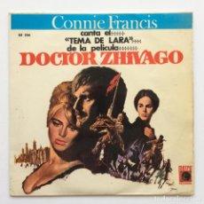 Discos de vinilo: CONNIE FRANCIS – DOCTOR ZHIVAGO SPAIN,1966 METRO RECORDS. Lote 266306858