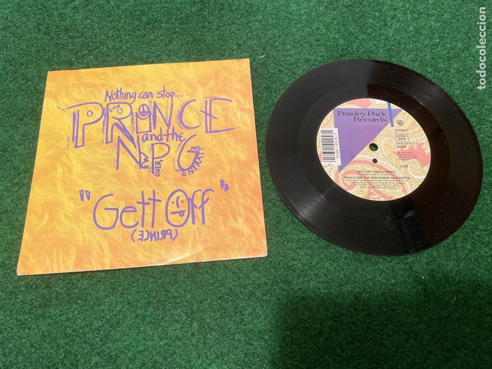 Discos de vinilo: Lote 7 Singles de Vinilo PRINCE - Incluye Promocionales - Batdance Scandalous U Got The Look Cream - Foto 2 - 266311853