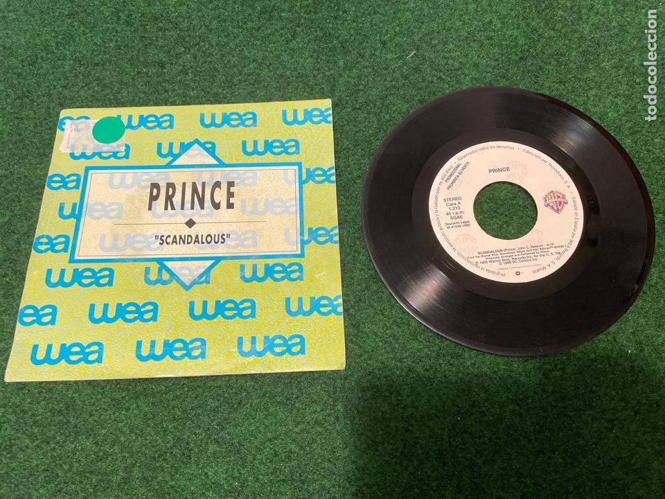 Discos de vinilo: Lote 7 Singles de Vinilo PRINCE - Incluye Promocionales - Batdance Scandalous U Got The Look Cream - Foto 4 - 266311853