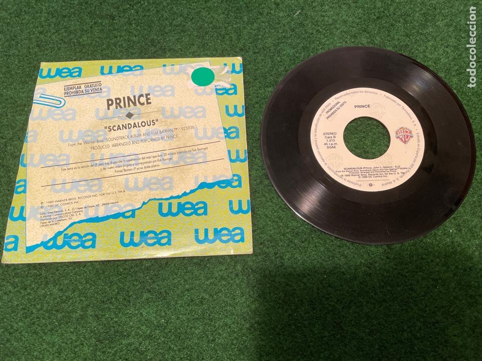 Discos de vinilo: Lote 7 Singles de Vinilo PRINCE - Incluye Promocionales - Batdance Scandalous U Got The Look Cream - Foto 5 - 266311853