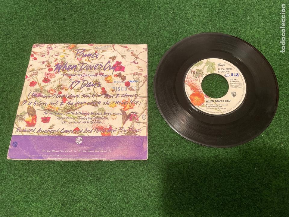 Discos de vinilo: Lote 7 Singles de Vinilo PRINCE - Incluye Promocionales - Batdance Scandalous U Got The Look Cream - Foto 11 - 266311853