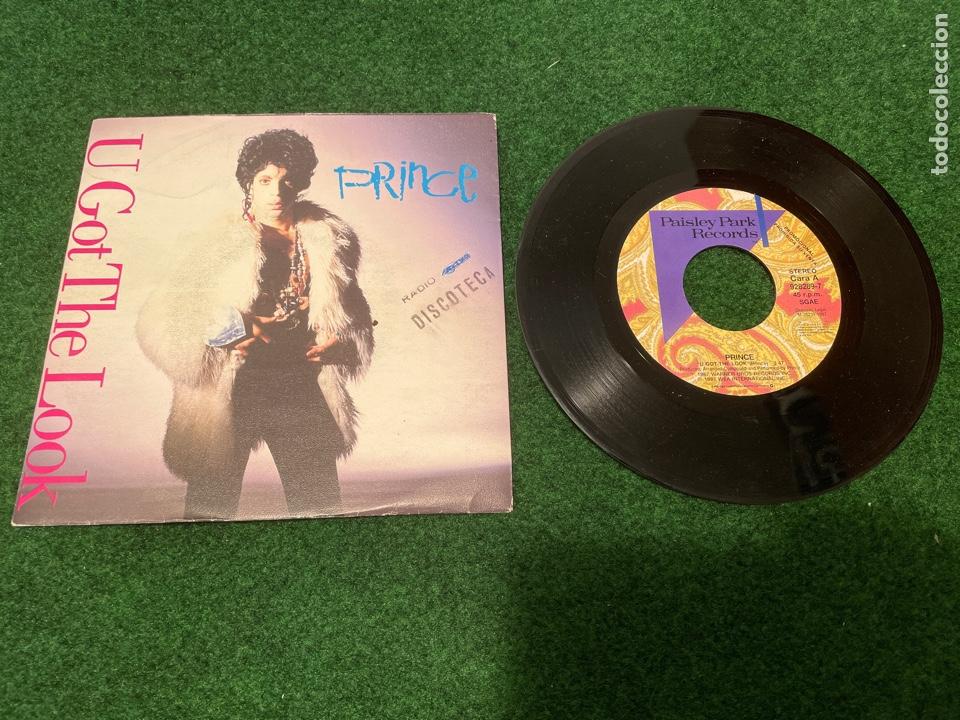 Discos de vinilo: Lote 7 Singles de Vinilo PRINCE - Incluye Promocionales - Batdance Scandalous U Got The Look Cream - Foto 14 - 266311853