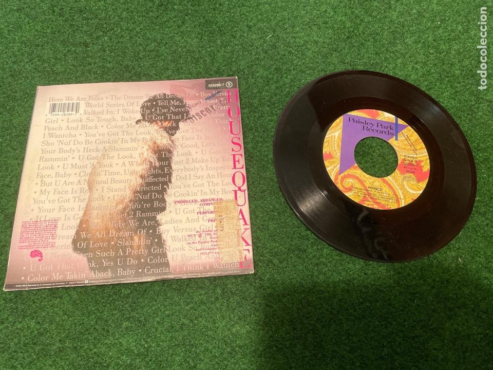 Discos de vinilo: Lote 7 Singles de Vinilo PRINCE - Incluye Promocionales - Batdance Scandalous U Got The Look Cream - Foto 15 - 266311853