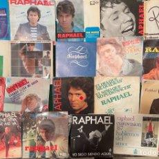 Discos de vinilo: GRAN LOTE 19 DISCOS DE VINILO RAPHAEL - INCLUYE PROMOCIONALES - OPORTUNIDAD - RAFAEL - SPAIN. Lote 266318028