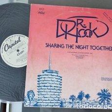 Discos de vinilo: BOB WELCH,THREE HEARTS Y DR.HOOK,SHARING THE NIGHT TOGETHER EDICION ESPAÑOLA DEL 79 PROMO. Lote 266326968