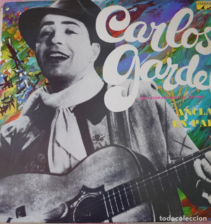 CARLOS GARDEL PARÍS LP EDITADO EN USA POR EL SELLO PARNASO. (Música - Discos - LP Vinilo - Grupos y Solistas de latinoamérica)