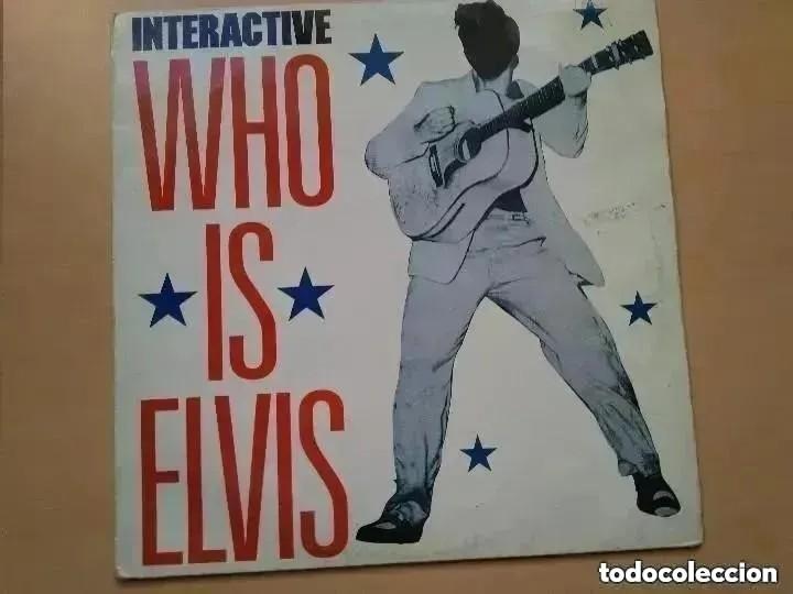 WHO IS ELVIS - INTERACTIVE (MX) 1992 (Música - Discos de Vinilo - Maxi Singles - Pop - Rock - New Wave Internacional de los 80)