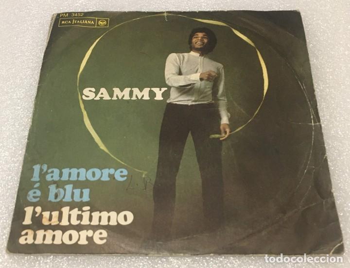 SINGLE SAMMY - L'AMORE É BLU - L'ULTIMO AMORE - RCA ITALIANA PM3452 - PEDIDO MINIMO 7€ (Música - Discos - Singles Vinilo - Canción Francesa e Italiana)