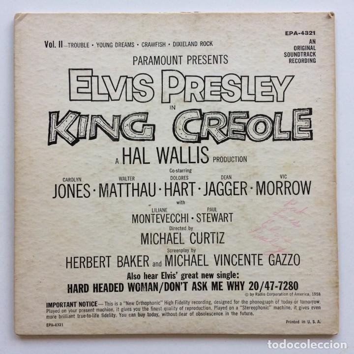Discos de vinilo: Elvis Presley – King Creole - Vol. 2 Australia RCA Victor - Foto 2 - 266339908