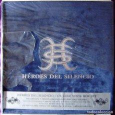 Discos de vinilo: HEROES DEL SILENCIO.DE LUXE VINYL BOX SET. 7 DISCOS ,2 DE ELLOS DOBLES. PRECINTADA.NO OFERTAS..LEER. Lote 266370163