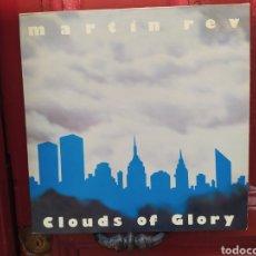 Discos de vinilo: MARTIN REV–CLOUDS OF GLORY. LP VINILO ROJO EDICIÓN FRANCE 1985. BUEN ESTADO.. Lote 266371428