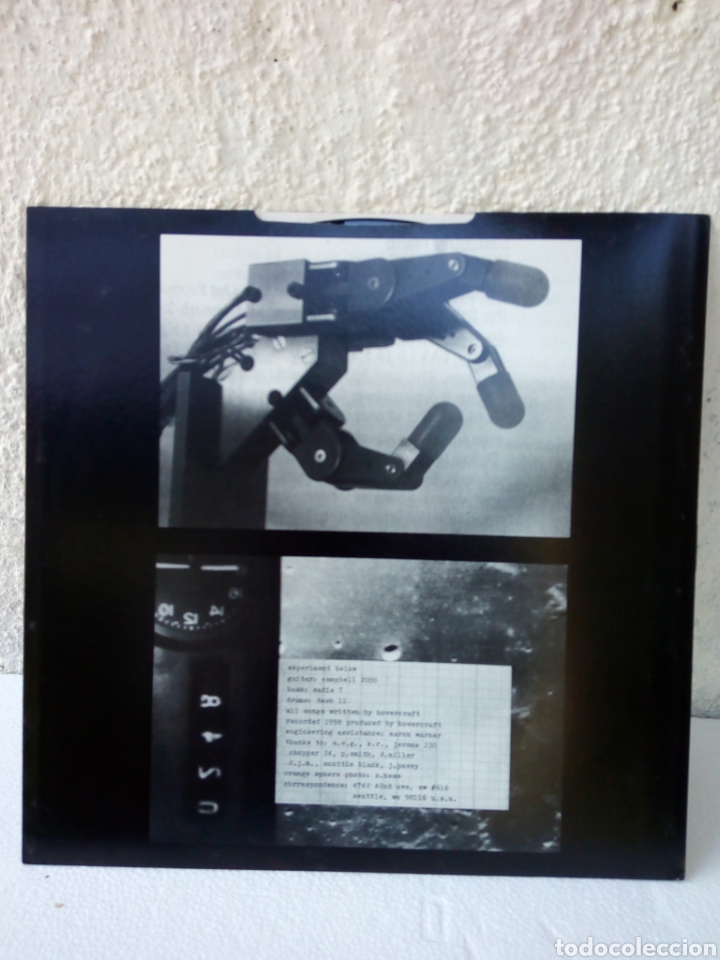 Discos de vinilo: EXPERIMENT BELOW - HOVERCRAFT - LP - Foto 4 - 266382763