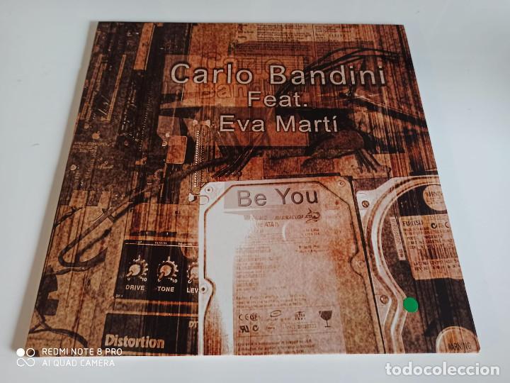 """CARLO BANDINI - BE YOU (12"""") (Música - Discos de Vinilo - Maxi Singles - Jazz, Jazz-Rock, Blues y R&B)"""