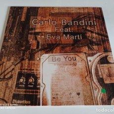 """Discos de vinilo: CARLO BANDINI - BE YOU (12""""). Lote 266393088"""