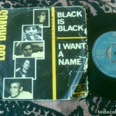 Discos de vinilo: LOS BRAVOS SINGLE. BLACK IS BLACK. MADE IN SPAIN 1966. Lote 289717908