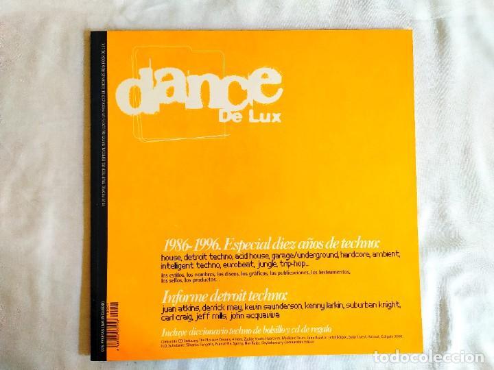 1996 - DANCE DE LUX - PRIMER NÚMERO (Música - Discos - LP Vinilo - Techno, Trance y House)