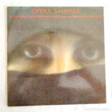 Discos de vinilo: VANGELIS - OPERA SAUVAGE - LP - VINILO. Lote 266417618
