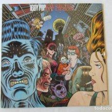 Dischi in vinile: LP VINILO IGGY POP BRICK BY BRICK EDICION USA. Lote 266417898