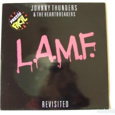 Dischi in vinile: LP VINILO JOHNNY THUNDERS AND THE HEARTBREAKERS L.A.M.F. REVISITED EDICION ESPAÑOLA. Lote 266419243