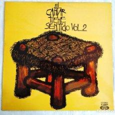 Discos de vinilo: EL CANTAR TIENE SENTIDO VOL. 2 - LP - VINILO. Lote 266420683