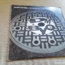 Discos de vinilo: DAVID MORALES & THE BAD YARD CLUB-GIMME LUV(EENIE MEENIE MINY MO) . MAXI. Lote 266426373