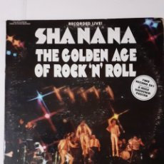 Discos de vinilo: SHANANA. THE GOLDEN AGE OF ROCK'N'ROLL. 2 LP. GATEFOLD. SIN POSTER. USA 1973.. Lote 266430433