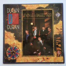 Discos de vinilo: DURAN DURAN – SEVEN AND THE RAGGED TIGER GERMANY,1983 EMI. Lote 266430483