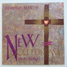 Discos de vinilo: SIMPLE MINDS – NEW GOLD DREAM (81-82-83-84) SWEDEN,1982 VIRGIN. Lote 266434673