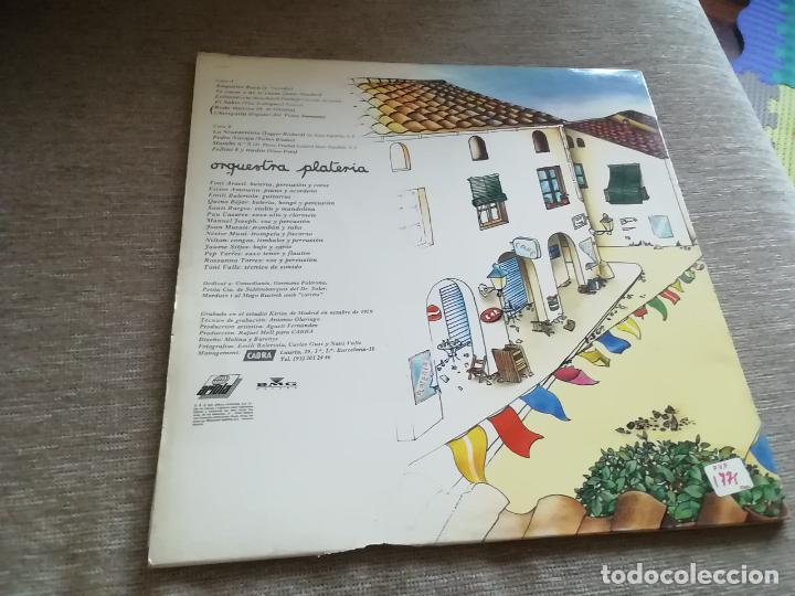 Discos de vinilo: Orquestra platería-lp - Foto 2 - 266436593