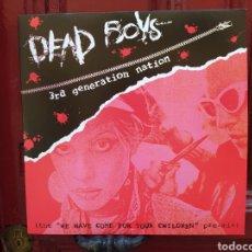 Discos de vinilo: DEAD BOYS–3RD GENERATION NATION. LP VINILO ROJO. NUEVO. Lote 266487208