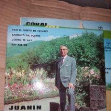 Discos de vinilo: SINGLE JUANIN DE MIERES. Lote 266502988