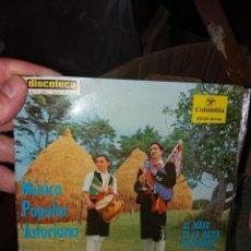 Discos de vinilo: SINGLE MÚSICA POPULAR ASTURIANA. Lote 266503338