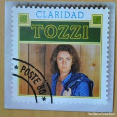 Disques de vinyle: UMBERTO TOZZI - CLARIDAD - SINGLE. Lote 266511638
