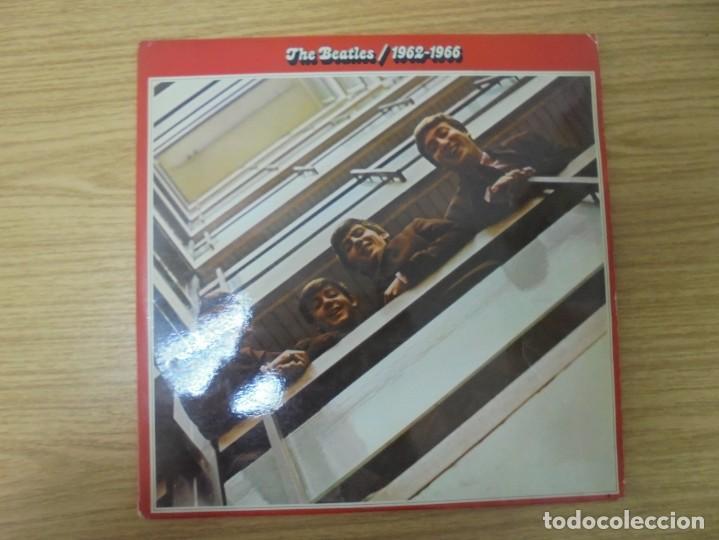 Discos de vinilo: THE BEATLES. 1962-1966. 2 LP VINILO. EMI ODEON.1973. VER FOTOGRAFIAS ADJUNTAS - Foto 2 - 266530263