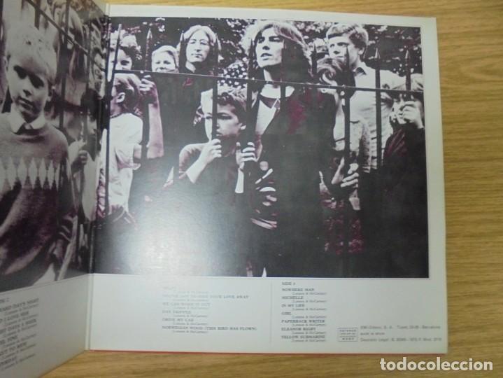Discos de vinilo: THE BEATLES. 1962-1966. 2 LP VINILO. EMI ODEON.1973. VER FOTOGRAFIAS ADJUNTAS - Foto 4 - 266530263