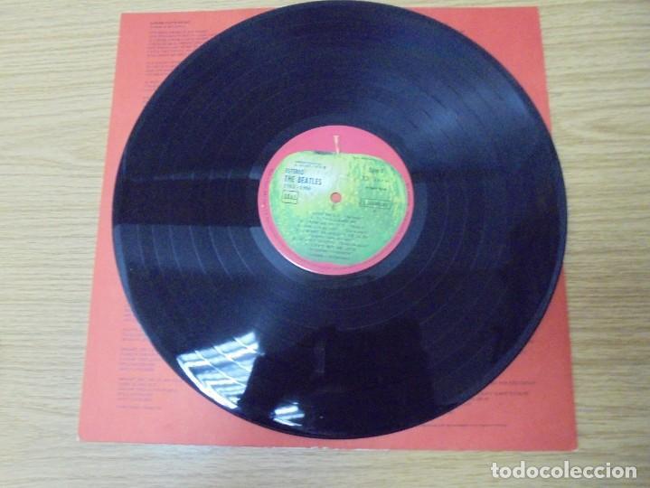Discos de vinilo: THE BEATLES. 1962-1966. 2 LP VINILO. EMI ODEON.1973. VER FOTOGRAFIAS ADJUNTAS - Foto 10 - 266530263
