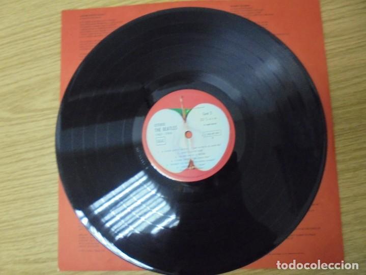 Discos de vinilo: THE BEATLES. 1962-1966. 2 LP VINILO. EMI ODEON.1973. VER FOTOGRAFIAS ADJUNTAS - Foto 12 - 266530263