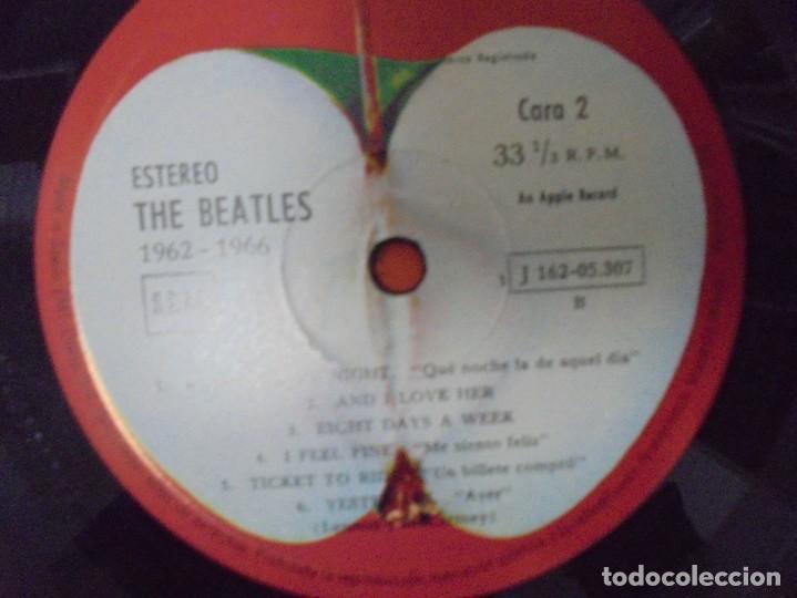Discos de vinilo: THE BEATLES. 1962-1966. 2 LP VINILO. EMI ODEON.1973. VER FOTOGRAFIAS ADJUNTAS - Foto 13 - 266530263