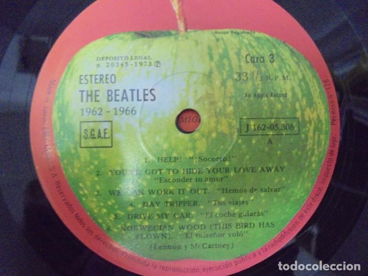 Discos de vinilo: THE BEATLES. 1962-1966. 2 LP VINILO. EMI ODEON.1973. VER FOTOGRAFIAS ADJUNTAS - Foto 17 - 266530263