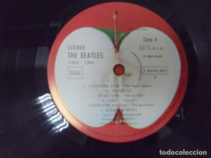 Discos de vinilo: THE BEATLES. 1962-1966. 2 LP VINILO. EMI ODEON.1973. VER FOTOGRAFIAS ADJUNTAS - Foto 19 - 266530263