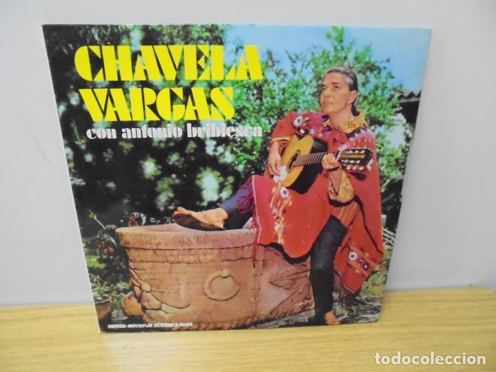 CHAVELA VARGAS CON ANTONIO BRIBIESCA. LP VINILO. ORFEON MOVIEPLAY 1972. (Música - Discos - LP Vinilo - Grupos y Solistas de latinoamérica)