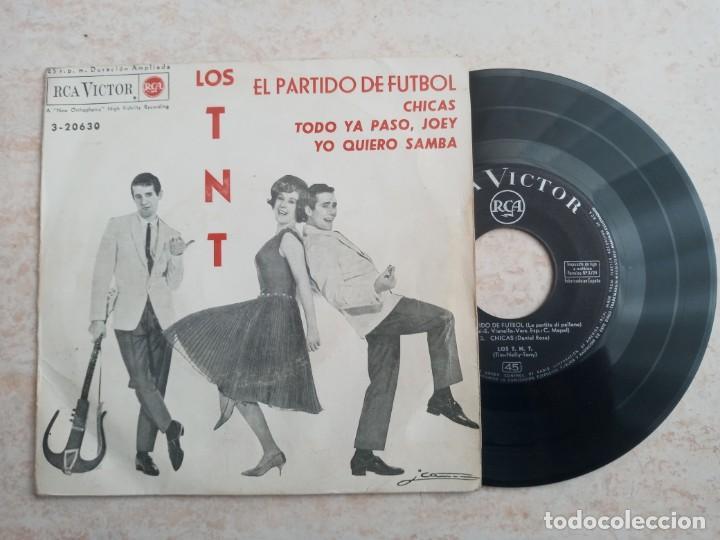 LOS T N T. EL PARTIDO DE FUTBOL.CHICAS. .ETC..EP 1963 (Música - Discos de Vinilo - EPs - Rock & Roll)