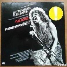 Discos de vinilo: BETTE MIDLER - THE ROSE (LP) 1979 ORIGINAL SOUNDTRACK RECORDING.. Lote 266541743
