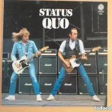 Discos de vinilo: STATUS QUO - QUO (LP) 1990. Lote 266541893